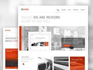 Rework theme WordPress
