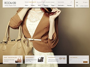 Room09 WordPress shop theme