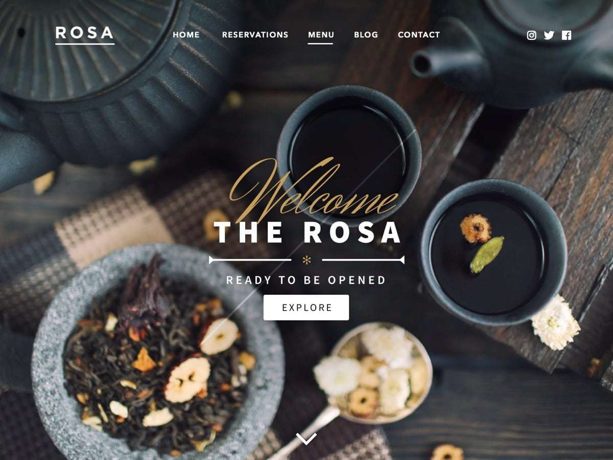 Rosa WordPress ecommerce theme