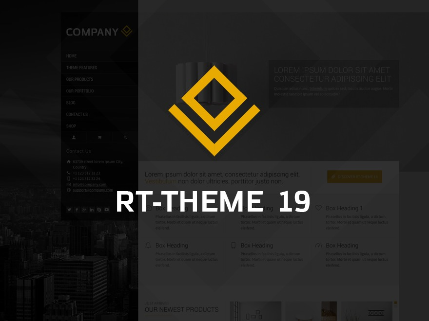 RT-Theme 19 WordPress theme