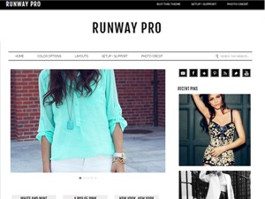 Runway Pro best WordPress template