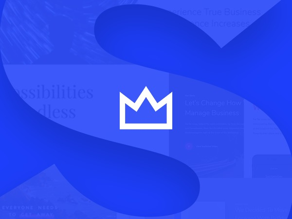 Salient WordPress page template