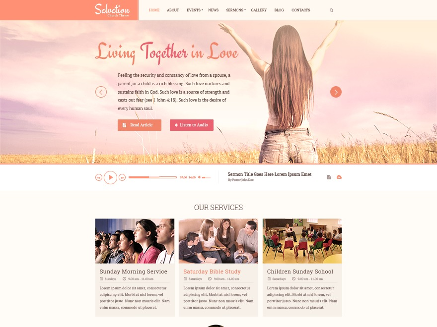 Salvation by MyThemeShop WordPress shop theme