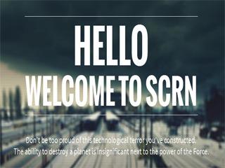 SCRN best portfolio WordPress theme