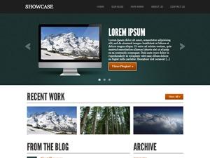 Showcase personal WordPress theme