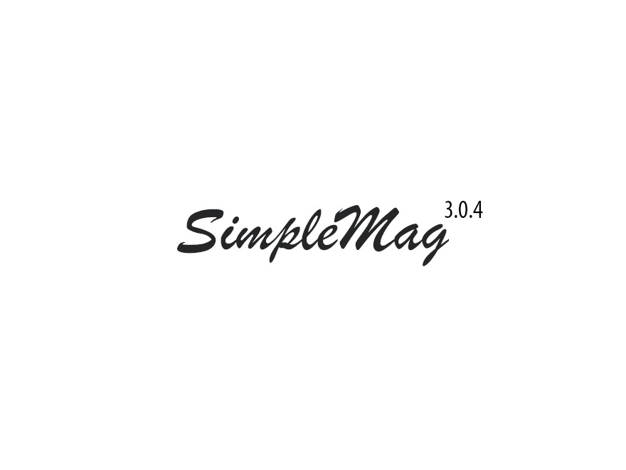 SimpleMag WordPress news template