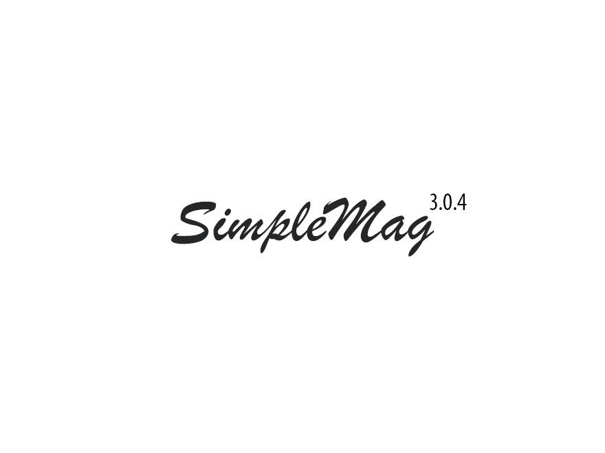 SimpleMag WordPress news template
