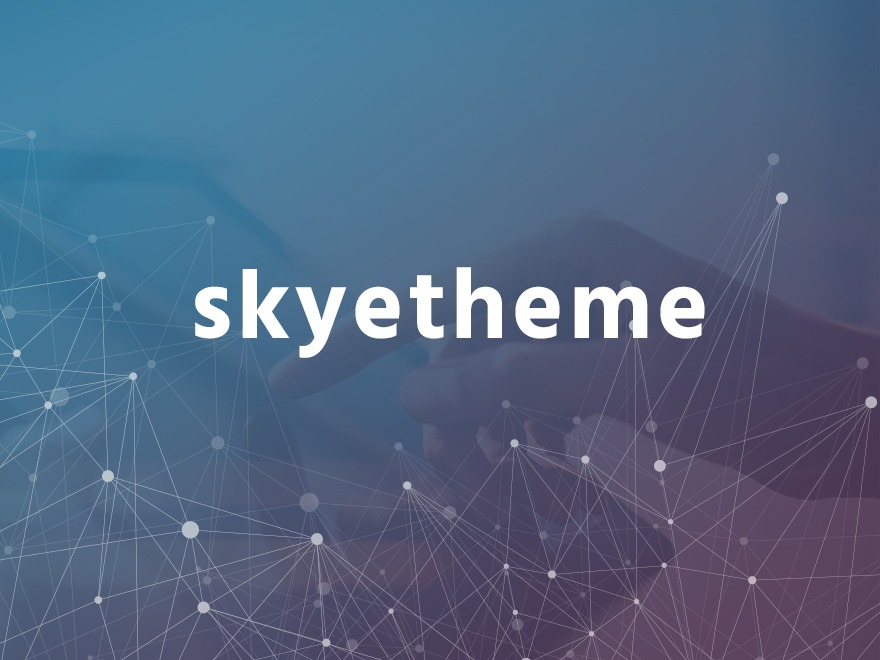 Skyetheme company WordPress theme