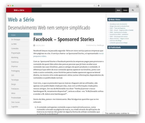 SmartAdapt WordPress theme download - webaserio.com