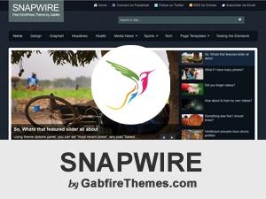 snapwire best WordPress theme