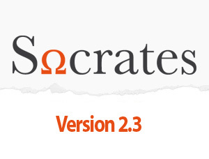 Socrates WordPress page template