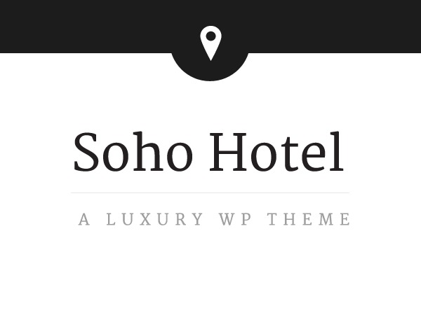 Soho Hotel WordPress hotel theme