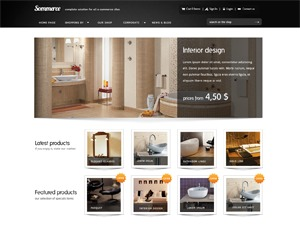 Sommerce top WordPress theme