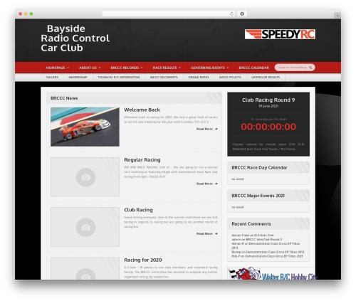 Sportimo Premium Theme WordPress website template - wynnumrc.org.au