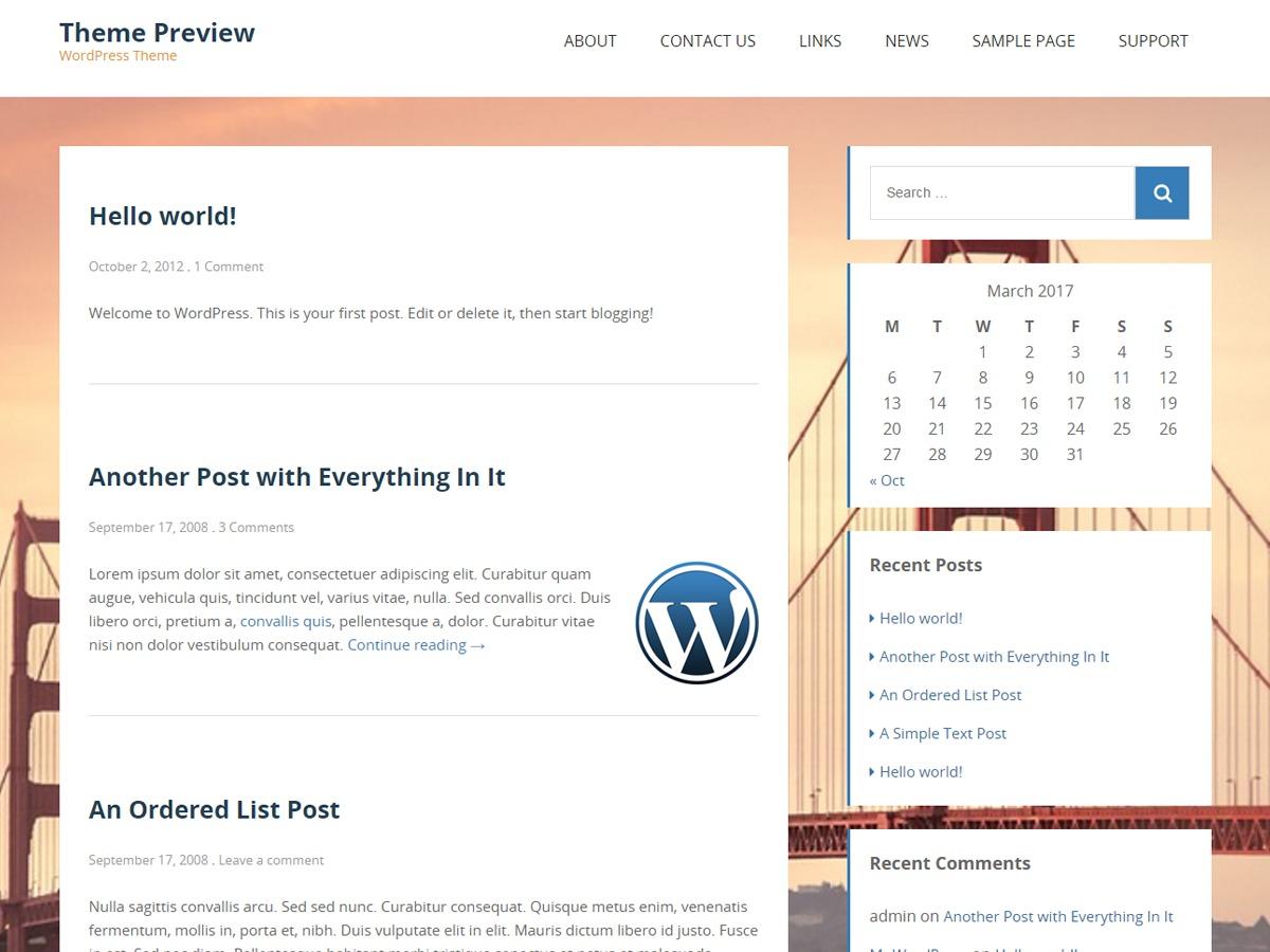 staymore template WordPress free