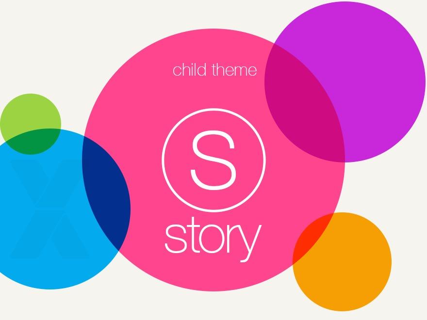 Story Child theme WordPress