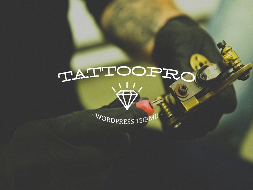 TattoPro WordPress ecommerce theme