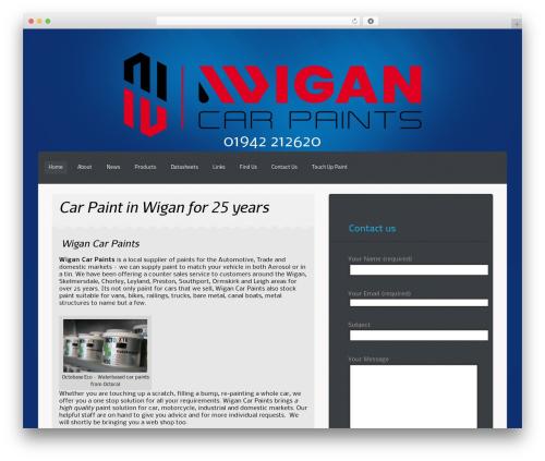 Teal.Blue.Pro WordPress page template - wigancarpaints.co.uk