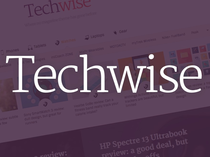 Techwise best WordPress magazine theme