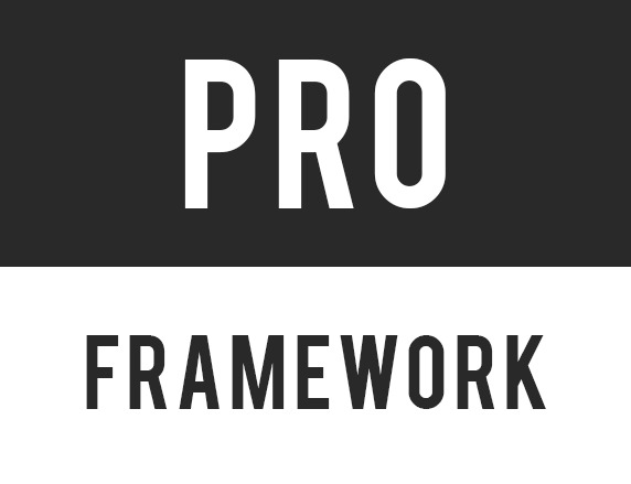 Template WordPress Pro Framework
