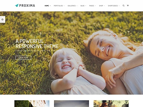 Template WordPress Proxima