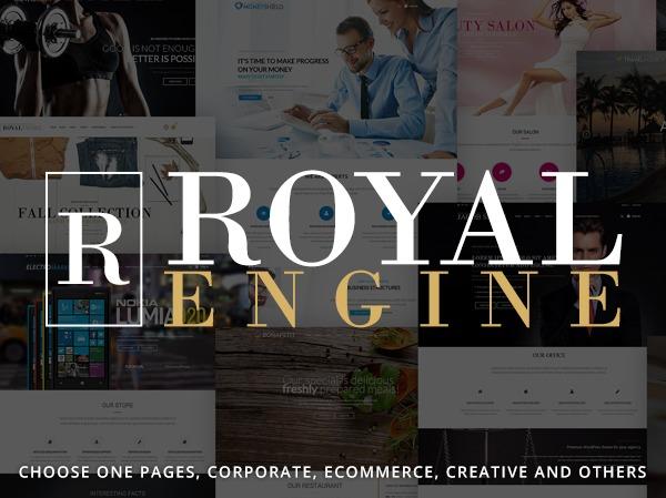 Template WordPress ROYAL - 8theme WordPress theme