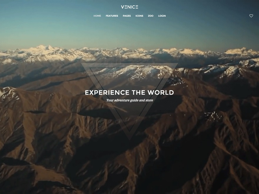 Template WordPress Venice