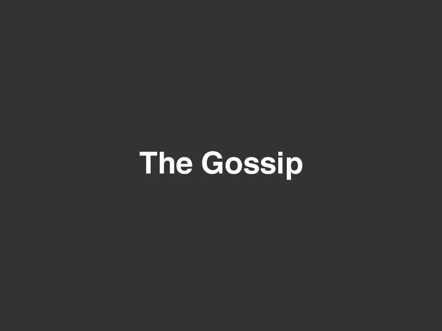 The Gossip WordPress website template