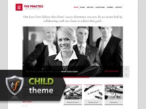 The Practice Child theme WordPress