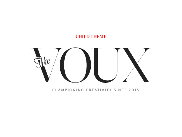 The Voux Child Theme WordPress news template