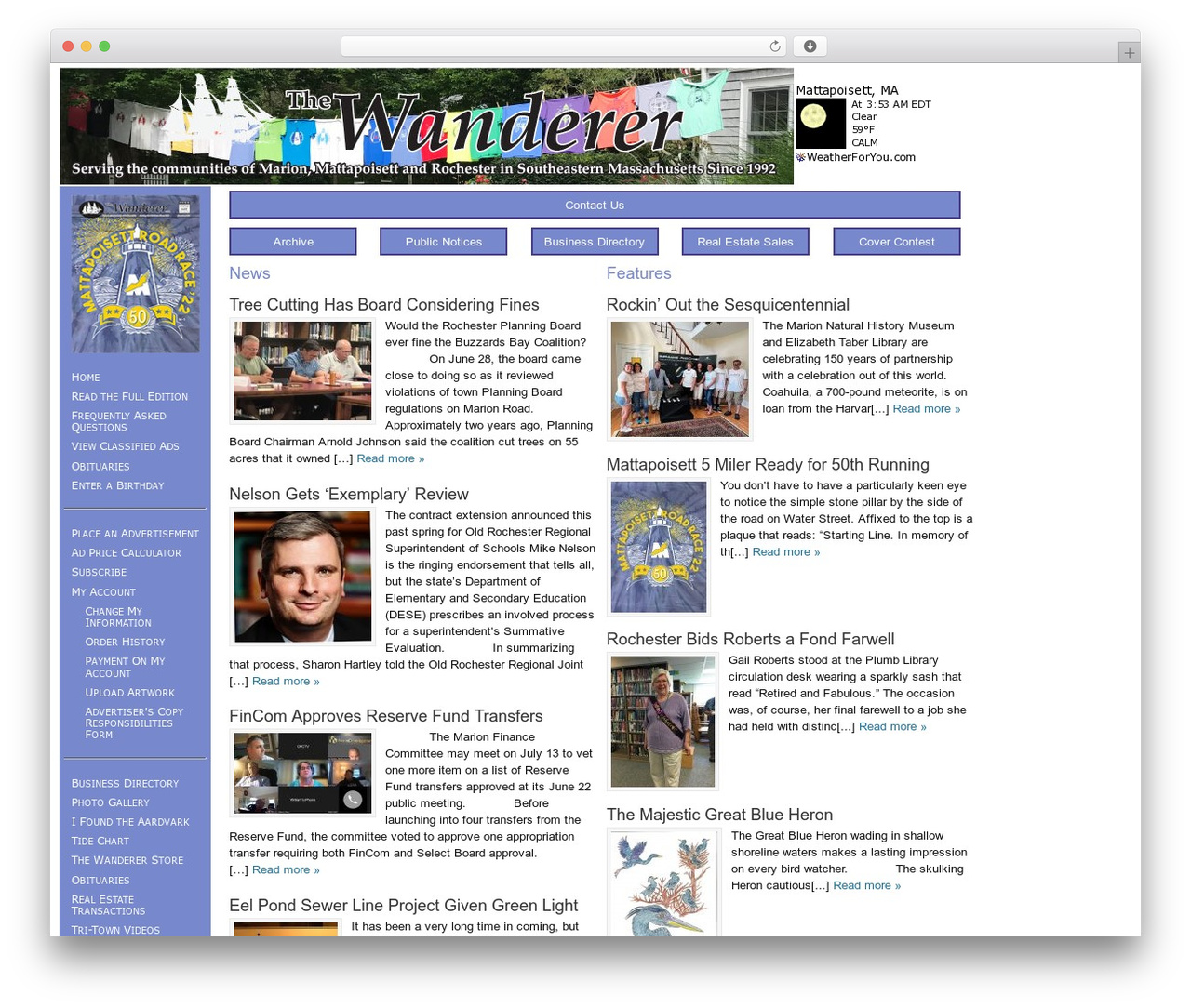 Theme WordPress Dynamik - wanderer.com