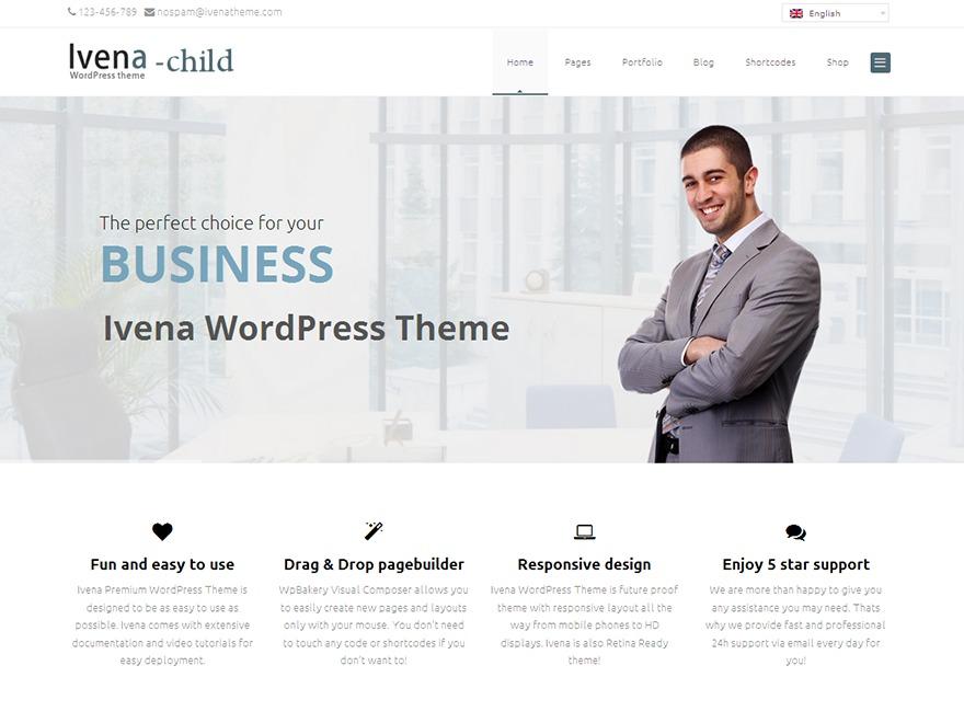 Theme WordPress Ivena Child