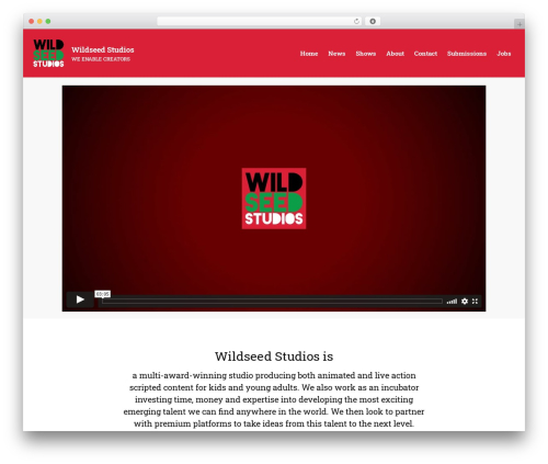 Theme WordPress Layers - wildseedstudios.com