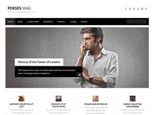 Theme WordPress PersesMag
