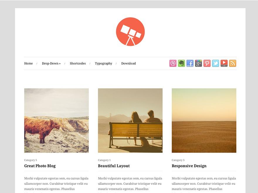 Theme WordPress Photo