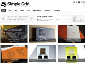 Theme WordPress Simple Grid Theme Responsive