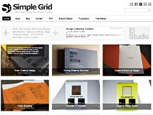 Theme WordPress Simple Grid Theme Responsive