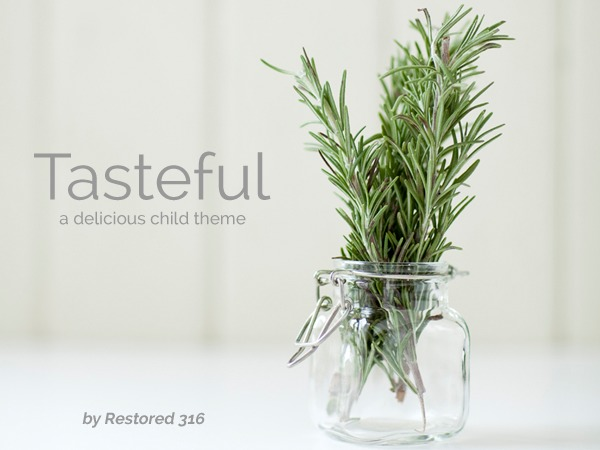 Theme WordPress Tasteful Theme