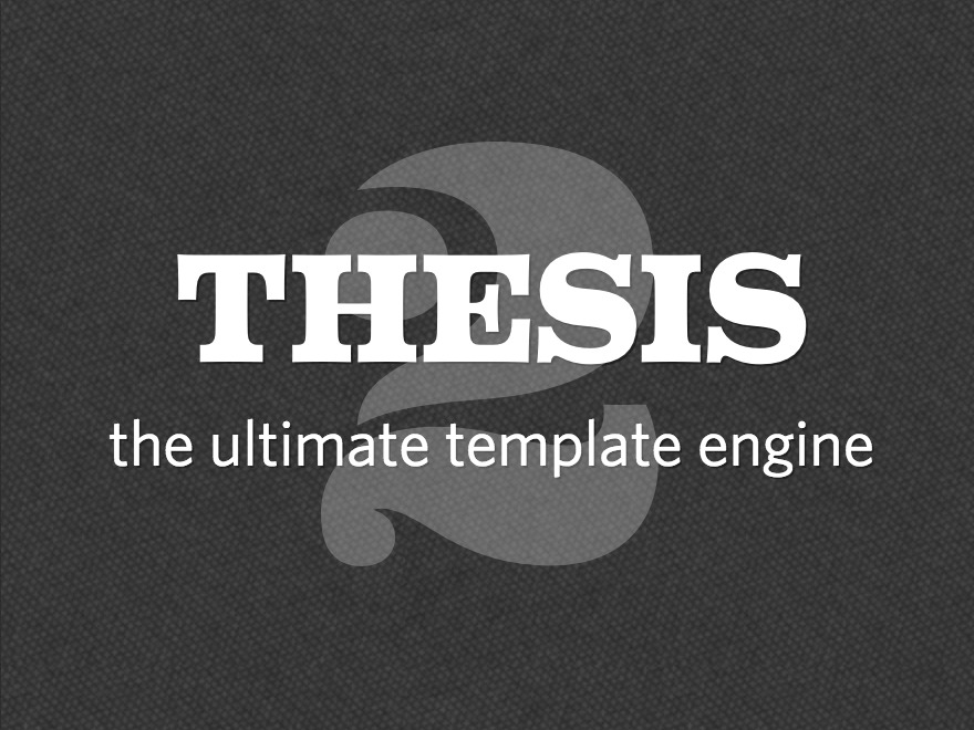 Theme WordPress Thesis
