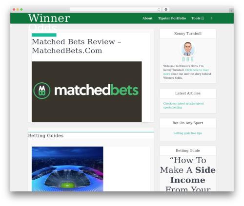 Free WordPress Meks Smart Author Widget plugin - winnersodds.com