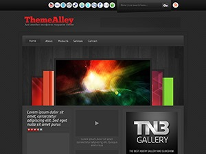 ThemeAlley theme WordPress