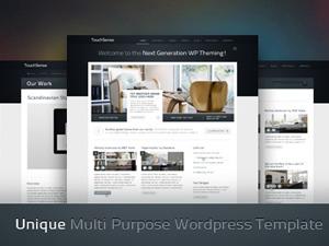 TouchSense WordPress theme