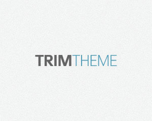 Trim WP theme
