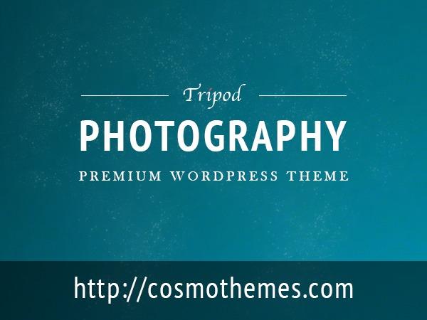 Tripod WordPress template