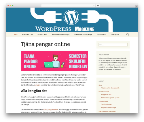 Twenty Thirteen WordPress theme free download - wp-magazine.se