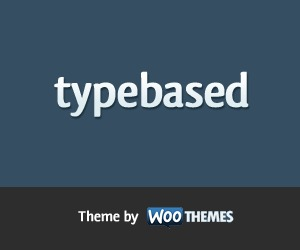 Typebased WordPress theme