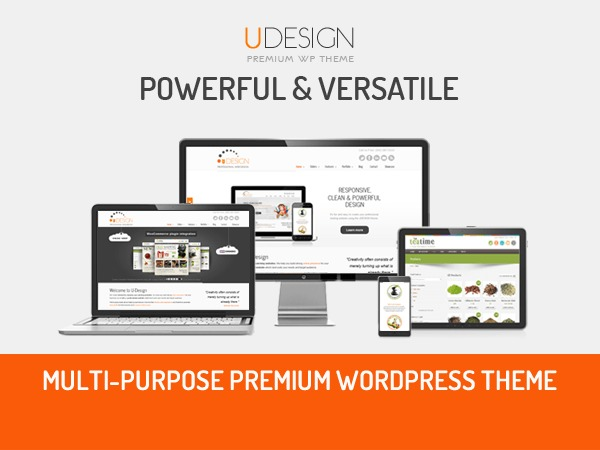 U-Design WordPress shop theme