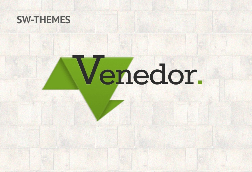 Venedor Child Theme WordPress ecommerce theme