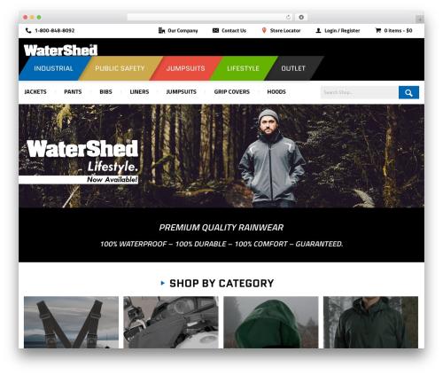 WordPress woocommerce-brands plugin - wearewatershed.com