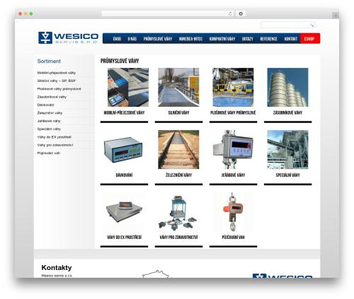 Free WordPress WP Slick Slider plugin - wesico.cz/prumyslove-vahy